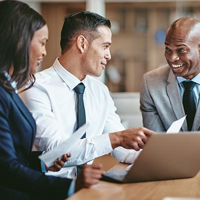 Professionals Meeting Job Assessment